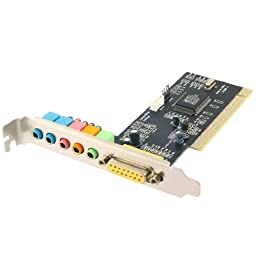 Sabrent PCI Sound Card SBT-SP6C