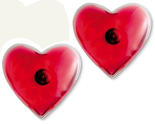 Reusable Instant Hand Warmers 6 Pack Heart Shaped Assorted Colors (Reusable Heat Warmers compare prices)