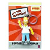 """Simpsons/Homer 3"""" Bendable Keychain"""