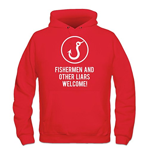 Fishermen and other liars welcome Kapuzenpulli by Shirtcity
