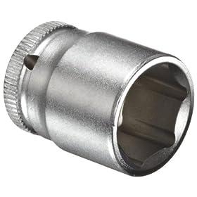 """Wera Zyklop 8790 HMA 1/4"""" Socket, Hex head 14mm x Length 23mm"""