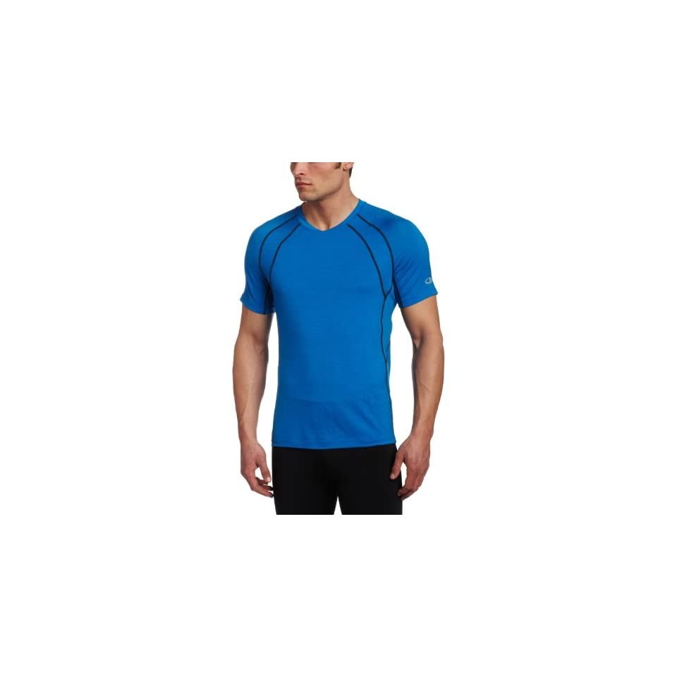 Icebreaker Mens Short Sleeve Quest Crewe Shirt