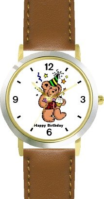 Teddy Bear (Birthday) Bear Animal - WATCHBUDDY®