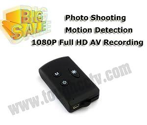 Hotsale 1080P Full HD AV Recording Car Key Camera Photo Shooting Motion Detection mini camera Web Camera Function