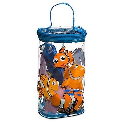 Disney Theme Park Educational Products Nemo Bath Buddies 4 Piece Toy Set