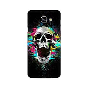 Mobicture Screaming Skull Premium Printed Case For Samsung A510 2016 Version