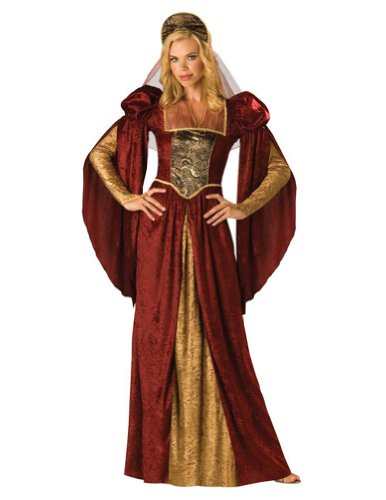 Renaissance Maiden Lg Adult Womens Costume - Incharacter