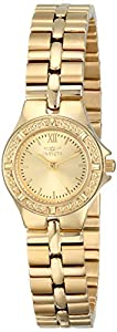 Invicta Women's 0137 Wildflower Collection 18k Gold-Plated Stainless Steel Watch