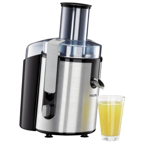 Philips HR1861 Whole Fruit Juicer, Aluminium by Philips
