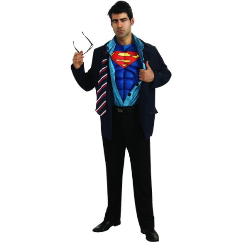 Clark Kent Superman Costume - Standard - Chest Size 40-44