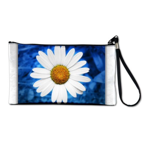 Artsmith, Inc. Clutch Bag Purse (2-Sided) Daisy
