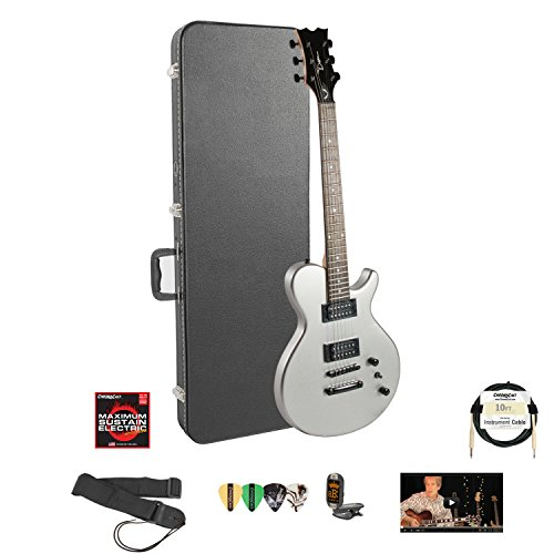 Dean Evo Xm Msl Electric Guitar With Lesson, Chromacast Hard Case, Strings, Strap, Cable, Tuner And Picks