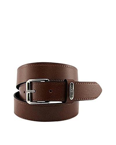 E4 Complementos Cinturón Piel Cuero