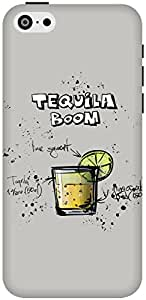 The Racoon Lean Gray Tequila Boom hard plastic printed back case / cover for Apple Iphone 5c