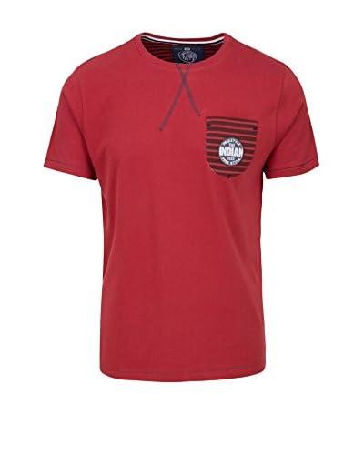 THE INDIAN FACE T-Shirt granatrot