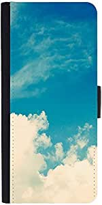 Snoogg Cloudy Daysdesigner Protective Flip Case Cover For Lg G2