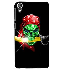 HTC DESIRE 820 PIRATE Back Cover by PRINTSWAG