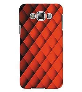 ColourCraft Pattern Design Back Case Cover for SAMSUNG GALAXY E7