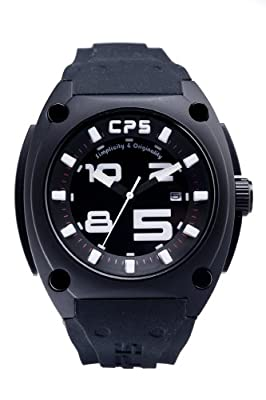 CP5 'Simplicity & Originality' Black & White Wrist Watch By Carles Puyol