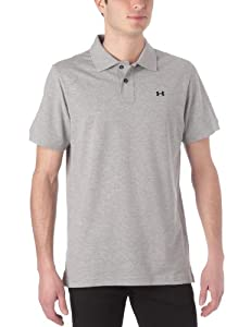Under Armour CC Pique Solid Polo manches courtes homme True Grey Heather M