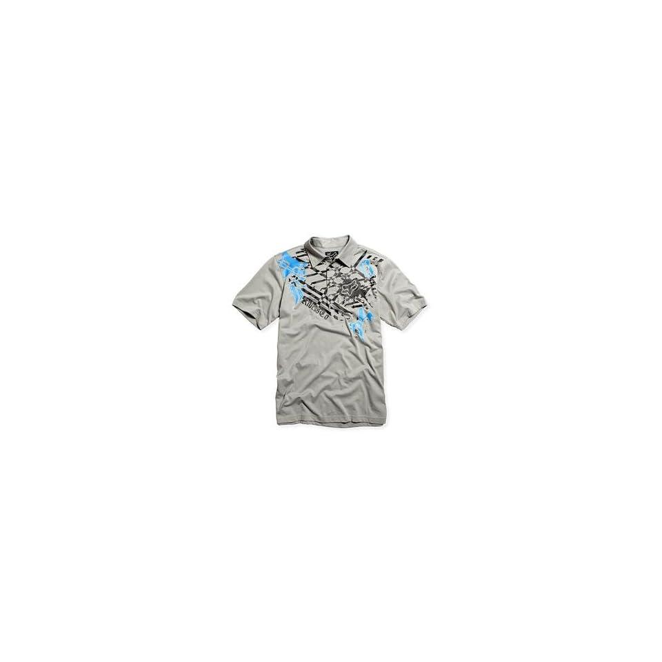 Fox Racing Vito Polo Shirt   Large/Grey