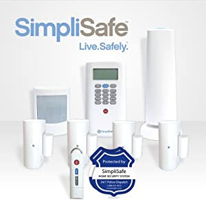 Best buy simplisafe2 wireless home security system 8 piece for Best buy security systems