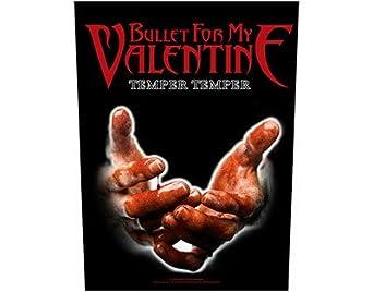 BULLET FOR MY VALENTINE temper temper backpatch