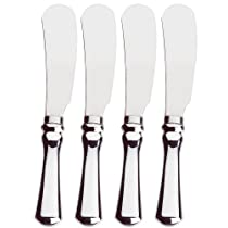 Amco Classic Spreaders Stainless Steel Blades Set of 4