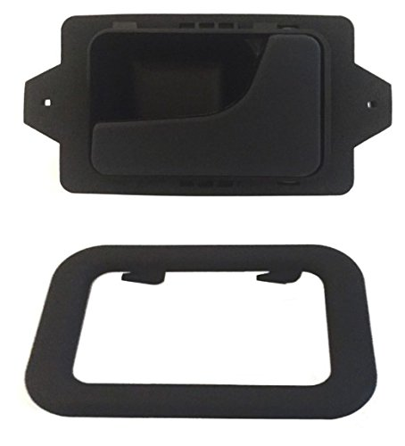 DELPA CL4722 - Right Inside Interior Inner Door Handle + Bezel Black Fits: BMW 3 5 6 7 Series E12 E23 E24 E28 E30 E32 E34 E36 E38 E39 E46 E60 E61 E63 E64 E65 E66 F01 F02 (Bmw E36 Door Handle compare prices)