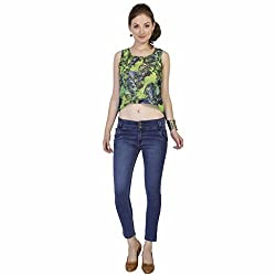 Clench Women's Ankle Length Denim Jeans - Size 30