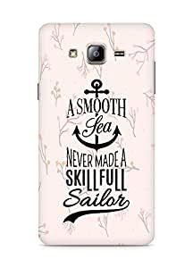 Amez A Smooth Sea Never made a Skillful Sailor Back Cover For Samsung Galaxy ON5