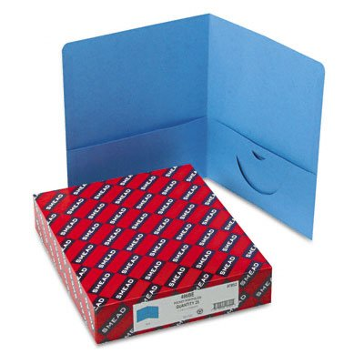 New-Smead 87852 - Two-Pocket Portfolio, Embos...