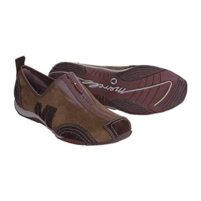 Amazon.com: Merrell Barrado Leather Shoes - Slip-Ons (For