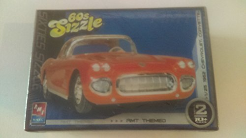 1962 Chevrolet Corvette 60's Sizzle AMT Themed Kit (1962 Corvette Model compare prices)