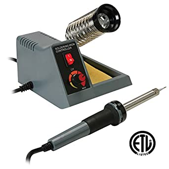 Soldering Station Features Continuously Variable Power Between 5-40W, a 1.5mm Pointed Tip