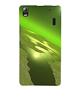 printtech Planet View Back Case Cover for Lenovo A7000