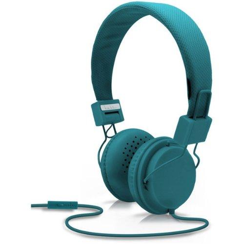 Nicole Miller Boho Headphone With Mic -Teal (Hp6401-Bl)