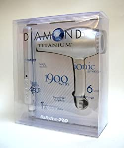 Babyliss Diamond Titanium Dryer and Iron