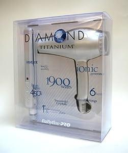 Babyliss Diamond Titanium Dryer and Iron