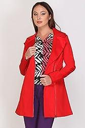 Kaaryah - Red Full Sleeves Jacket