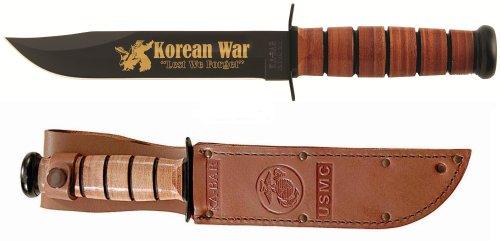 Ka-Bar Knives Korean War 50Th Anniversary Commemorative Knife, Usmc Stamp 2-9106-7