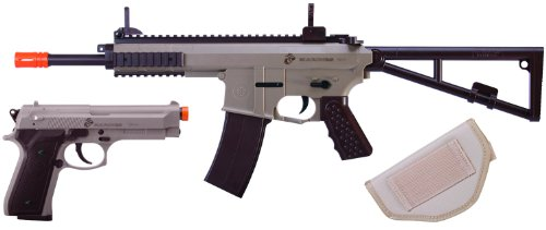 U.S. Marine Corps Airsoft Rifle and Pistol Combo Kit
