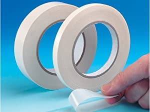CE double sided tissue tape, 12mmx50m, ROLL
