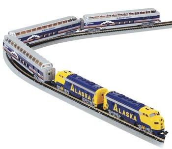 Bachmann Trains McKinley Explorer Ready-to-Run N Scale Train Set