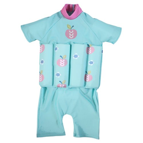Splash About Collections Uv (Spf50+) Sun Protection Float Suit With Adjustable Buoyancy (Apple Daisy, 2-4 Years (Chest: 56Cm | Length: 40Cm)) front-9206