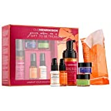 OLE HENRIKSEN UNWRAP YOUR RADIANCE HOLIDAY KIT (WORTH: £91.00):art foaming cleanserTM 3.5 oz. the clean truthTM cleansing cloths 10 pack truth serum® collagen booster, pure truthTM youth activating oil, sheer transformation®, invigorating night treatment