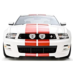 3dCarbon 2010-2012 Mustang Boy Racer Front Bumper Replacement (painted: Alloy Mettalic - G5)