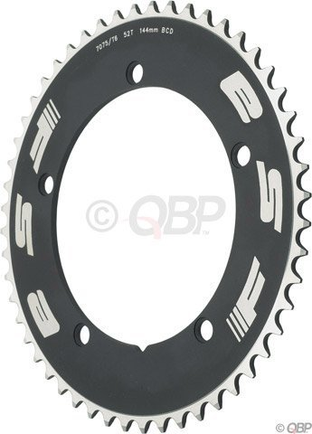 FSA Pro Track 50t x144mm Black Chainring 1/2″x1/8″