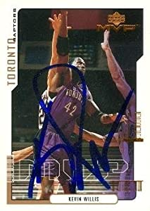 Kevin Willis Autographed Hand Signed Basketball Card (Toronto Raptors) 2000 Upper... by Hall of Fame Memorabilia