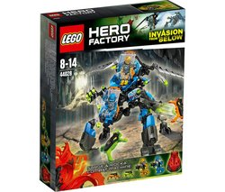 """LEGO Hero Factory - SURGE & Rocka Combat Machine - 44028 (Lego Hero Factory 5702015115261) """"Go to work, SURGE & ROCKA! Attack the hatching jumpers and clear the way for the other heroes to fin..."""